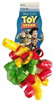 Unique Party Favors Disney Toy Story Curly Bow Tag Licensed Product (pack Of 6)