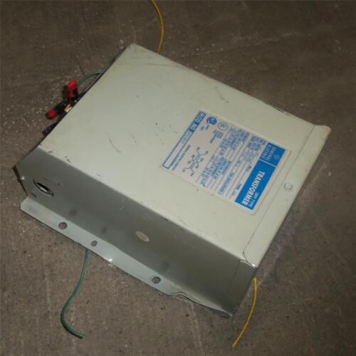 DRY TYPE TRANSFORMER 9T51B13 *kjs* GENERAL ELECTRIC 480V 60Hz