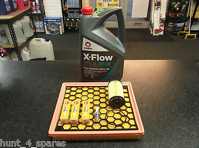 VAUXHALL INSIGNIA 1.8 SERVICE KIT OIL AIR FILTERS SPARK PLUGS NGK COMMA XFLOW