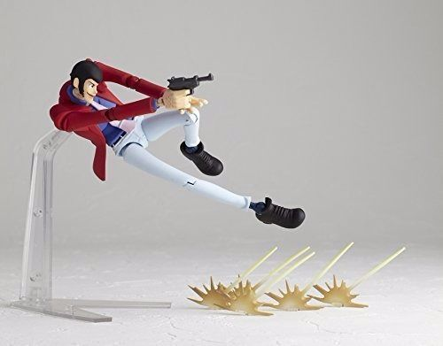 Legacy of Revoltech LR-025 Lupin III Figure KAIYODO NEW from Japan