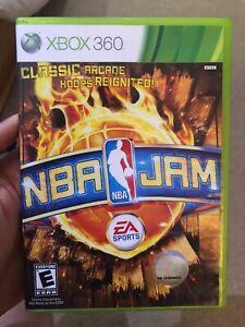 NBA-Jam-Microsoft-Xbox-360-2010-Complete-Tested-Works-CIB