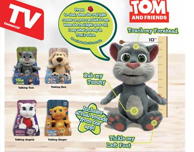Talking Tom /& Friends Toy Figure TALKING ANGELA Unused
