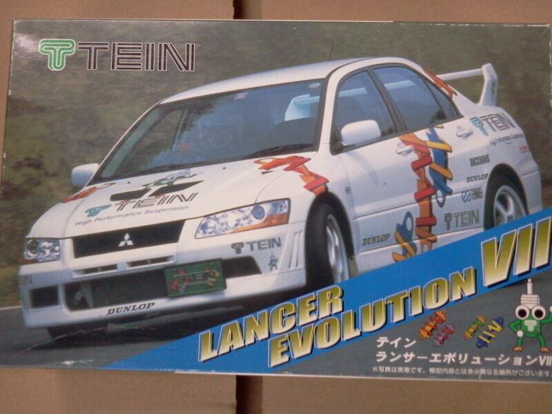 TEIN MITSUBISHI LANCER EVOLUTION EVO VII 7FUJIMI 1 24 modelkit