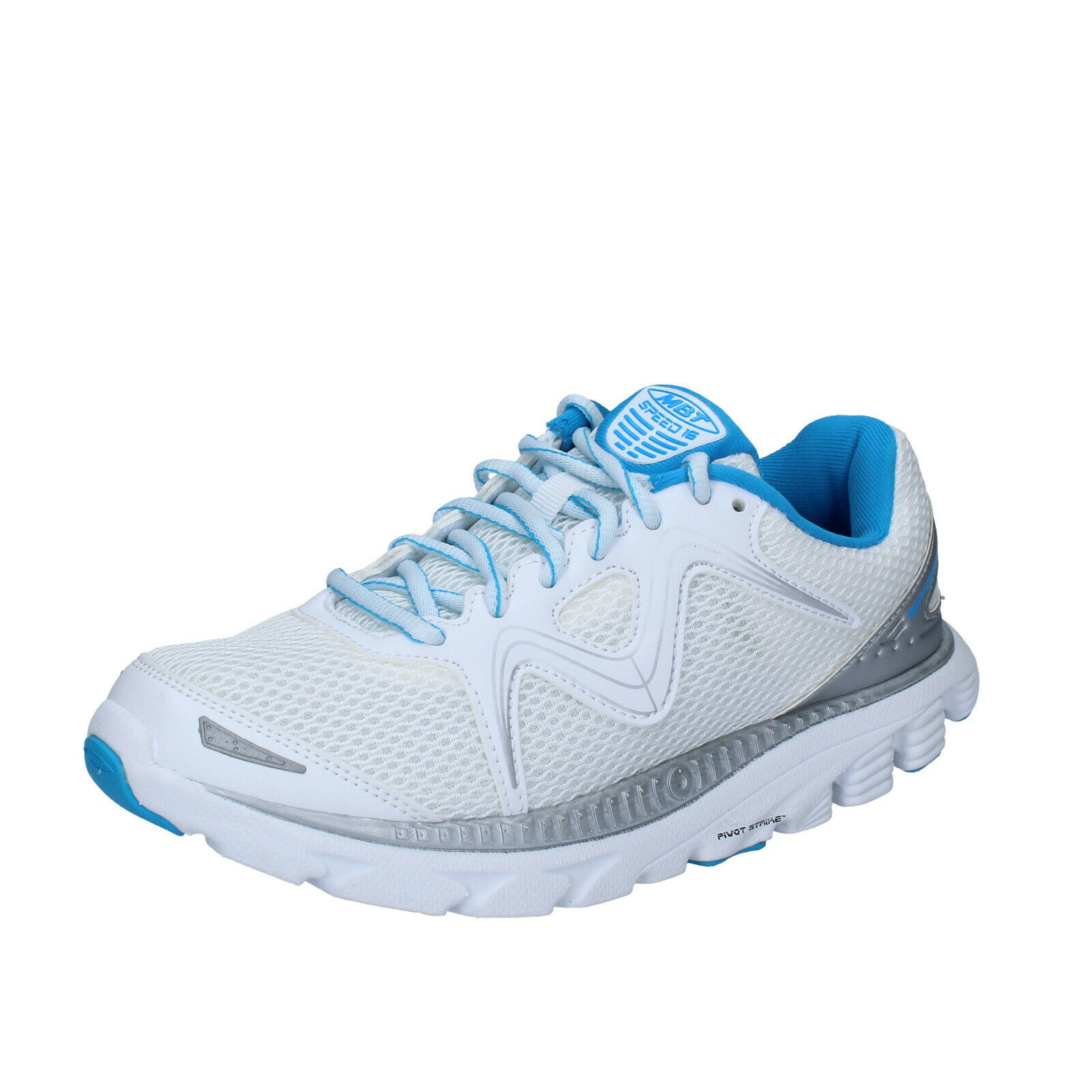 Women's shoes MBT 6,5 () sneakers white textile lightweight BS409-37,5