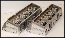 PROMAXX 200cc SBC CHEVY ALUMINUM HEADS 64CC COMBUSTION CHAMBERS BARE SET
