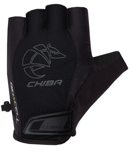 Chiba BioXCell Air Fahrrad Handschuhe kurz schwarz 2019