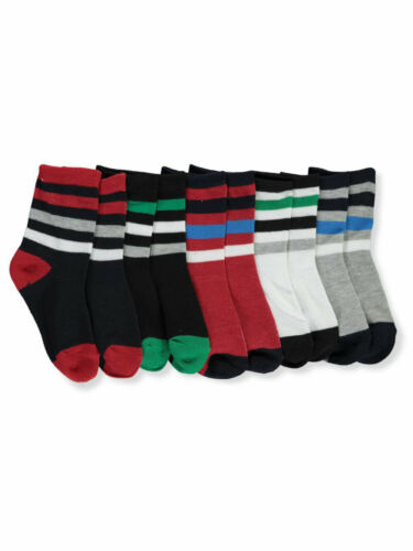 TSG Baby Boys/' Striped 5-Pack Crew Socks