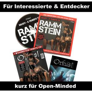 Orkus! Sommer 2021 mit RAMMSTEIN-Tribute-CD u.v.m - neu!