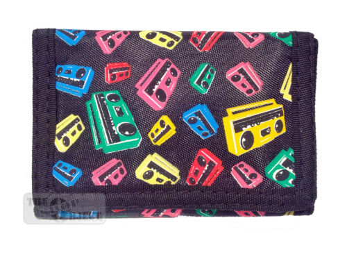 Wallet Music Skull Ghetto Crossbones Guitar Kids Money Coin Purse