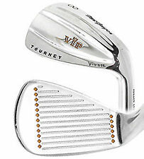 NEW IN BOX RH MacGregor VIP V-Foil Forged 1025 M 3-PW S300 Stiff Steel Iron Set