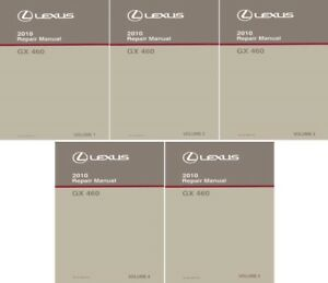 2010 lexus gx 460 shop service repair manual complete set rh ebay com 2010 Lexus GX 460 Resale Values 2010 Lexus GS 460