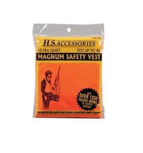 Hunter-039-s-Specialties-2002-Magnum-Blaze-Orange-4X-Hunting-Safety-Vest