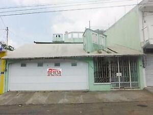 Col. Pocitos y Rivera, Veracruz, Ver. - Casa en venta (a 10 minutos de zona portuaria)