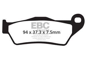 Para-Moto-Guzzi-850-Breva-Ie-sin-ABS-Modelos-06-gt-07-EBC-Sinterizadas-Pad-Set