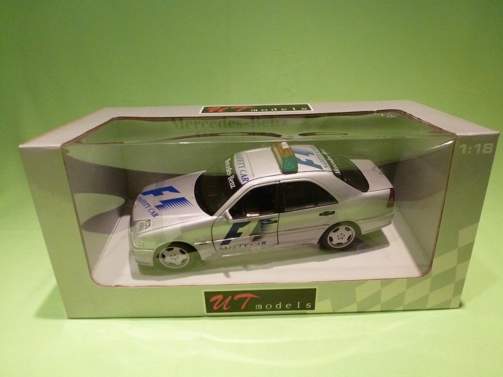 ¡No dudes! ¡Compra ahora! UT MODELS MODELS MODELS 1 18 MERCEDES BENZ F1 SAFETY Coche - AUSTRALIA  - RARE SELTEN - IN BOX  a la venta