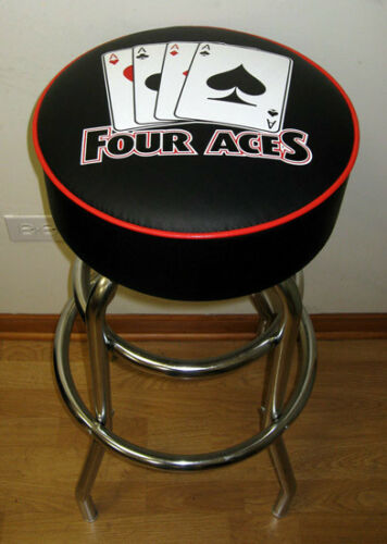 4 Aces Poker Four of a Kind Casino Stool Stools