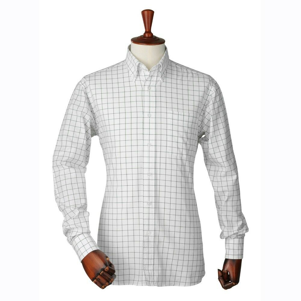 Laksen7719 Arthur Pin Point Oxford Shirt