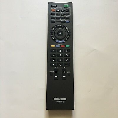 Remote Control For Sony KDL-52W3000 KDL-52WL130 KDL-40XBR6 LCD PROJECTOR HDTV TV