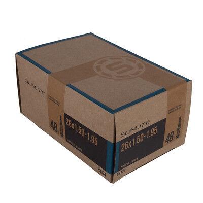 27x1-1//8x1-1//4 PV Sunlite Utili-T Bulk Standard Presta Valve Tubes 700x25-32