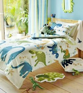 dinosaur bedroom. Image is loading Catherine Lansfield Dino Kids Duvet Cover Stripe Green  Boys