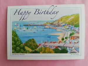 The Mumbles Bay - Birthday Card - Tony Paultyn