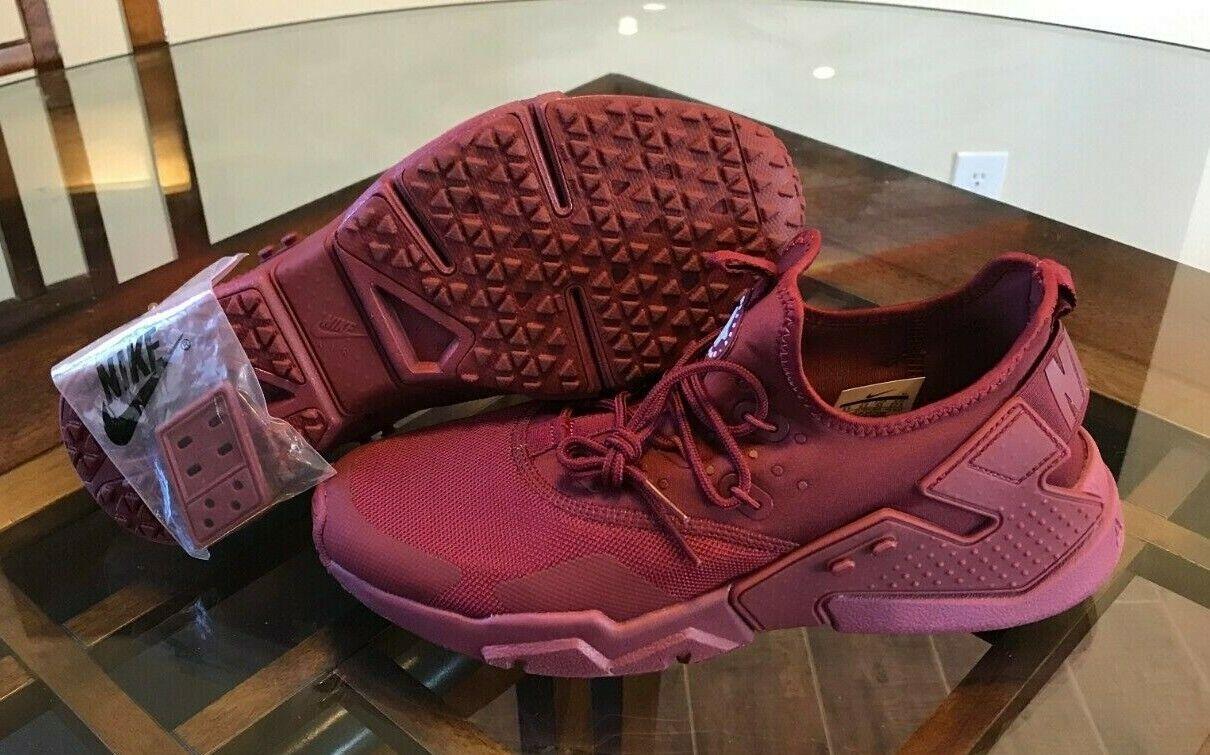 Nike Air Huarache Run Drift Men's Running shoes Red Maroon AH7334-600 Size 9.5