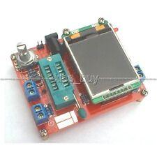 2016 DIY TFT M328 Transistor Tester LCR Capacitance ESR meter PWM Squal Generato