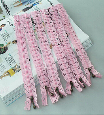 DIY 20 CM Closed End Lace Zipper for Bags Manufacture No.3 BE68