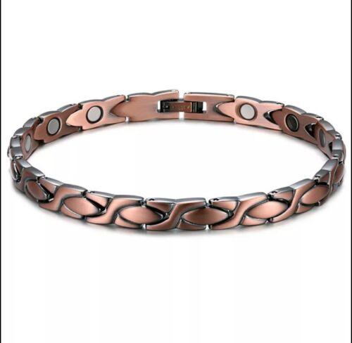 Details about  /Copper Health Energy Magnetic Bracelets Men/'s /& Women/'s