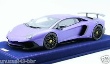 1/18th MR Lamborghini Aventador LP750-4 SV Matt Purple, BBR , Frontiart