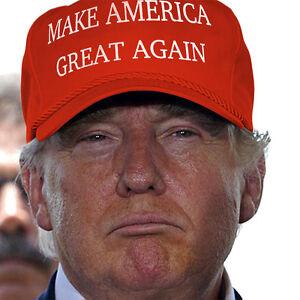 Donald Trump MAKE AMERICA GREAT AGAIN HAT 2016 Republican Adjustable Cap
