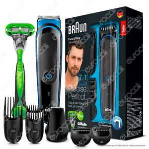 Braun-MGK3042-MultiGrooming-Kit-7-In-1-Rasoio-Barba-Elettrico-Gillette-Body