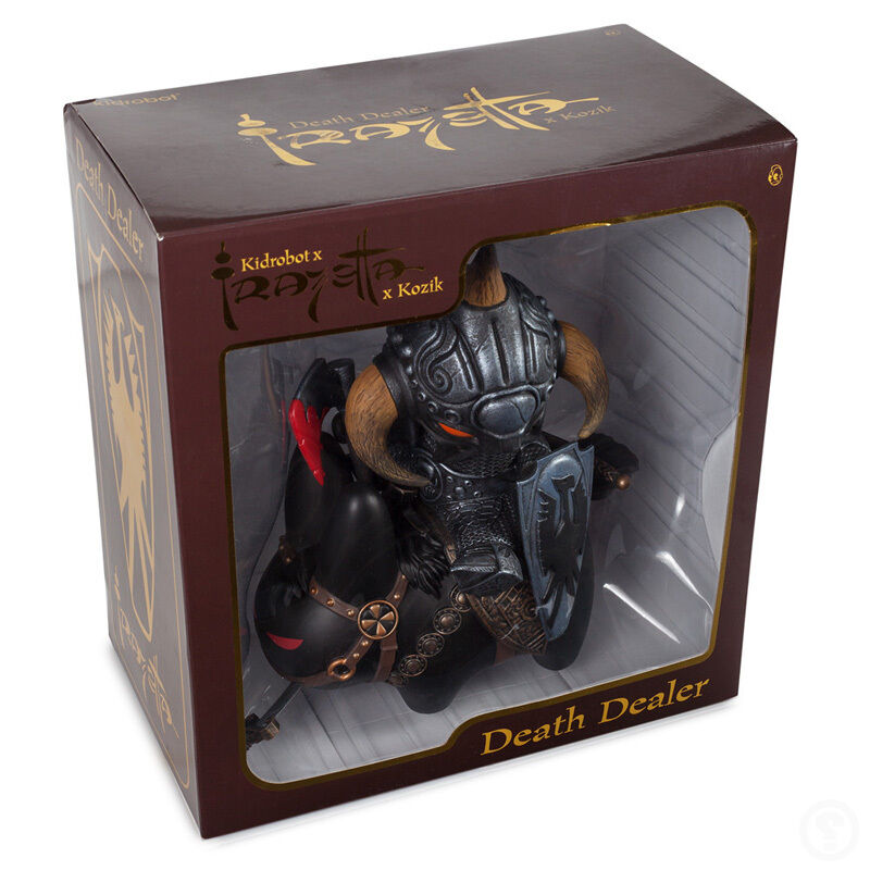 Kidrobot Dealer Frazetta Death Dealer Kidrobot Labbit by Frank Kozik Vinyl Art Toy 2e5c10