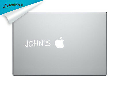 Your Name's on Mac Decal Laptop Sticker Mac Decals for 13 15 17 inch Macbooks