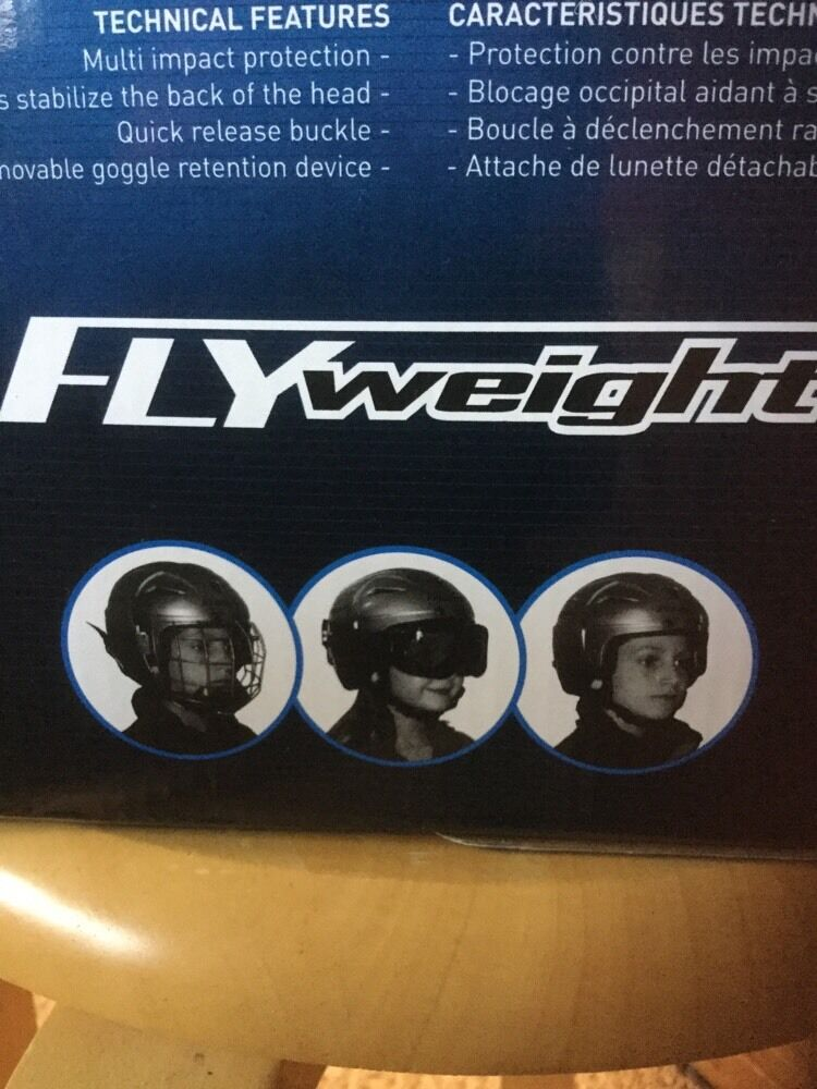 Youth ITech Flyweight Multi sport sport sport Helmet. Ages 7 & Under.  Hat Size 6 To 6.5 NIB 7ef733