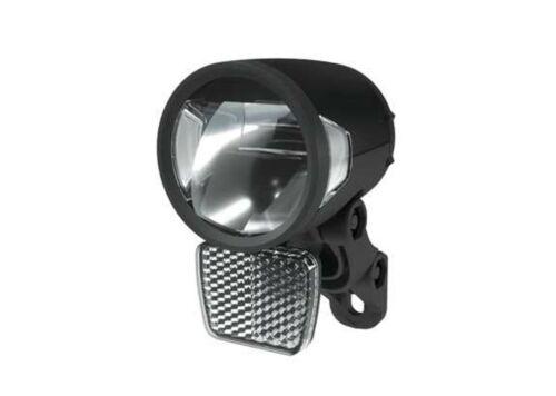 Herrmanns Front Lumière H-Black mr8 E 180 lm E-Bike Noir