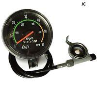 Classic Style Speedometer, For 49/80cc Motorized Bike, Bicycle Engine Kit (jac)