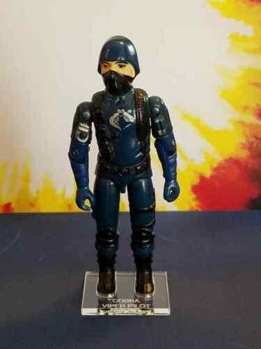 Hasbro G.I joe Viper Pilot V1 seule loose Figure Stand//Base