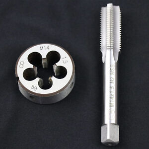 HSS-M14-X-1-5mm-Metric-Tap-and-Die-Set-Right-Hand-Thread-High-Quality-US-Stock