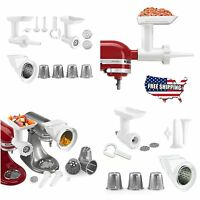 Kitchenaid Stand Mixer Attachment Slicer Food Grinder Rotor Shredder Stuffer