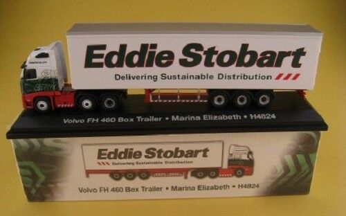 Volvo FH 460 Box Trailer  Eddie Stobart  Marina Elizabeth  ATLAS Edition  1:76