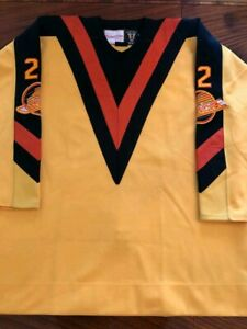 61c50ae6b4d Image is loading 100-Authentic-Pro-60-Vancouver-Canucks-Mitchell-amp-