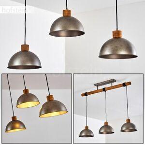 Vintage Tisch Lampen Schlaf Wohn Gäste Zimmer Beleuchtung Leuchten schwarz//Holz
