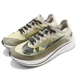 88660a64a165c Nike Zoom Fly SP Light Bone Black Olive Green Camo Mens Running ...