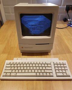 Macintosh-Classic-II-Vintage-Apple-Computer-Rare-unrestored-Super-clean