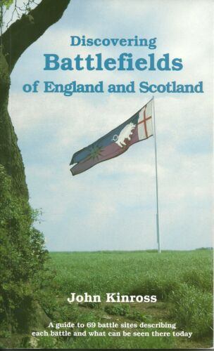 1 of 1 - DISCOVERING BATTLEFIELDS OF ENGLAND & SCOTLAND - SHIRE BOOK BY JOHN KINROSS