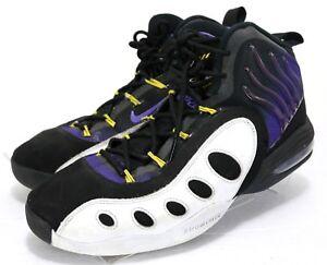 55c38b8c34b Nike Sonic Flight GP20  115 Men s Basketball Shoes Size 10 Black ...