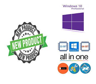 Windows 10 Flash Drive USB Sandisk 16gb Install Aio Upgrade Repair