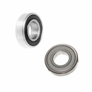 6200 SERIES (ZZ & 2RS) POPULAR METRIC BALL BEARINGS SELECT YOUR SIZE
