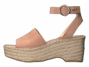 c561dbad60a Dolce Vita Lesly Rose Suede Women s Platform Wedge Espadrille ...